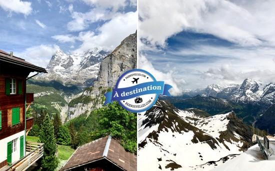 Interlaken : 4 activités extérieures à faire absolument
