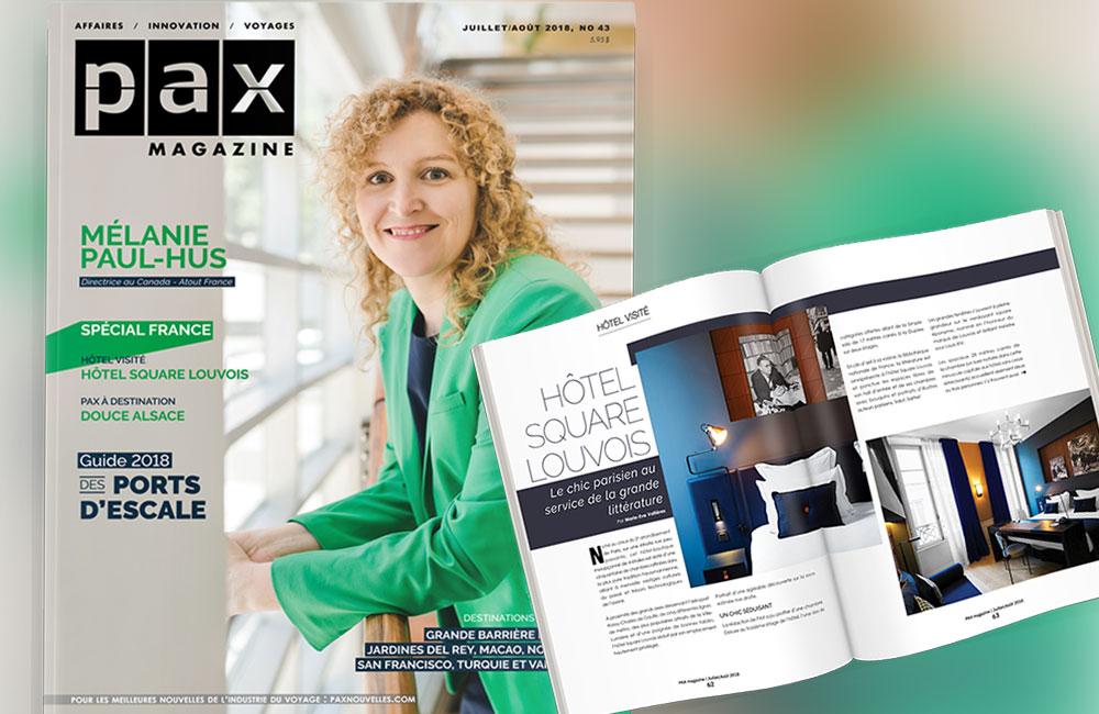 L'édition de juillet de PAX magazine est maintenant disponible!