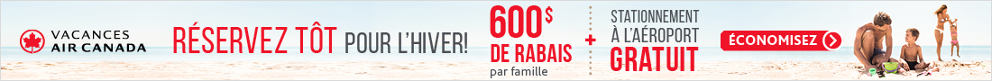 Air Canada Vacations - Footer - July 16