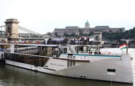 Le Crystal Ravel baptisé à Budapest