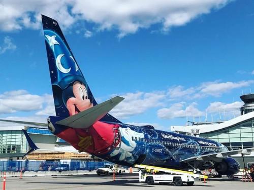 Mickey de passage à Québec