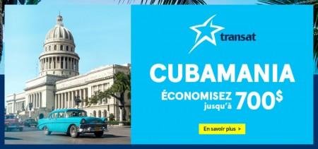 Transat présente la Cubamania