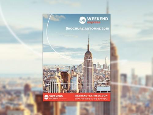 Weekend Express : nouvelle brochure pour les escapades d'automne 2018