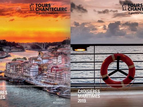 Tours Chanteclerc : une riche brochure Croisières 2019