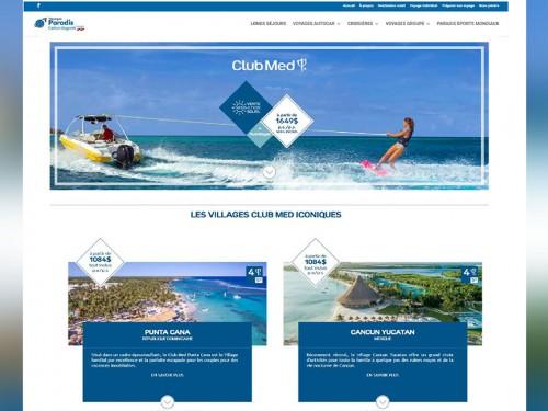 Club Med : les produits intégrés directement sur votre site web
