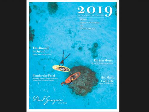 La nouvelle brochure Paul Gauguin est arrivée