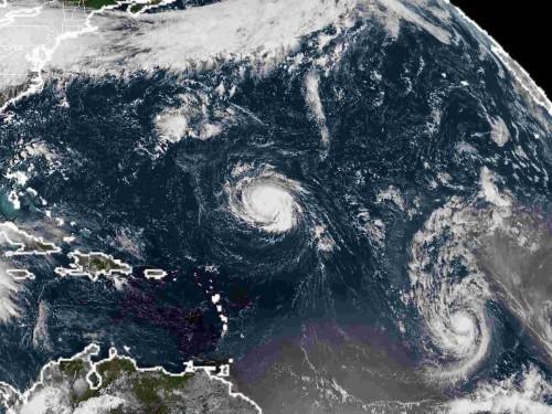 Ce qu'il faut savoir sur le trio d'ouragans dans l'Atlantique