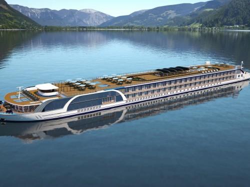 Voyez l'AmaMagna, plus gros navire fluvial d'Europe, en 3D