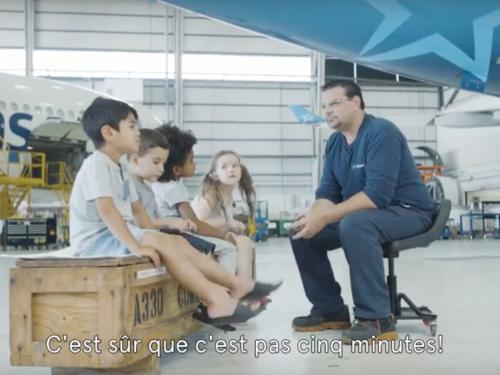 Air Transat : des vidéos dans les coulisses de l'aviation