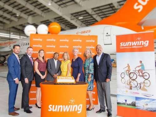 Sunwing : des vols directs Toronto-Daytona Beach cet hiver