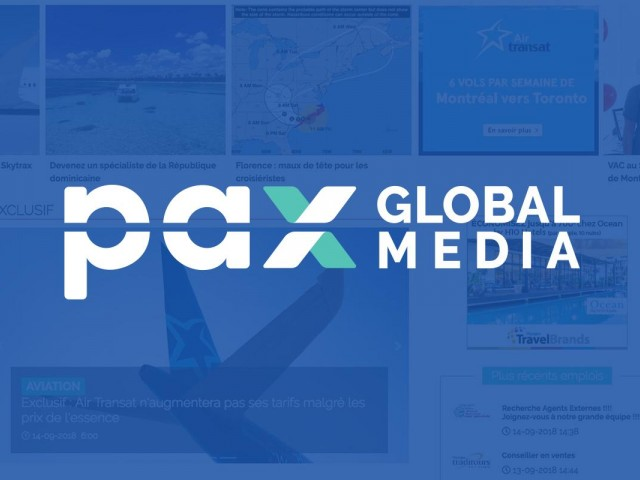 LogiMonde media devient PAX Global Media