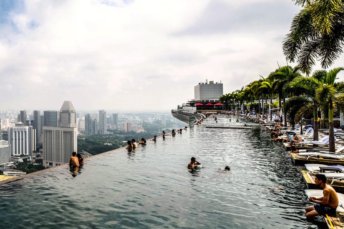 Quatre des plus belles piscines du monde