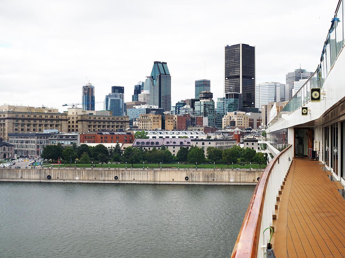 Exclusif : PAX visite le Viking Sea au port de Montréal