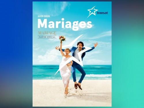 Transat: planifier des noces de rêve avec la brochure Mariages 2019-2020