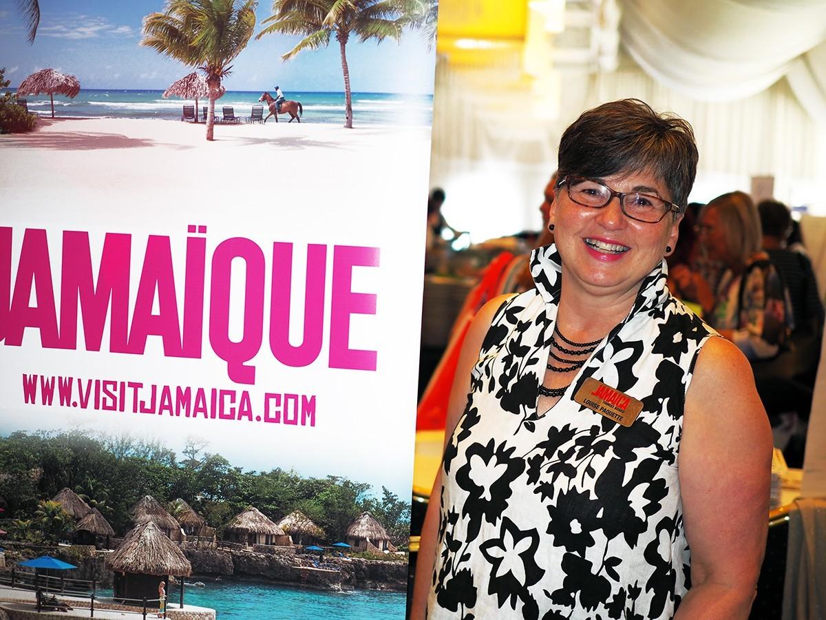 Louise Paquette : « Venez en Jamaïque, nous n'avons pas d'algues sargasses! »