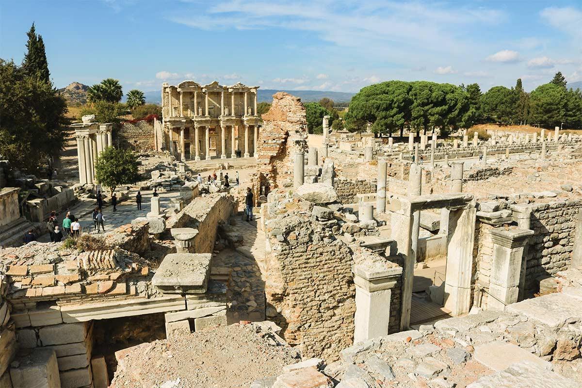 Voyage dans le temps à Éphèse