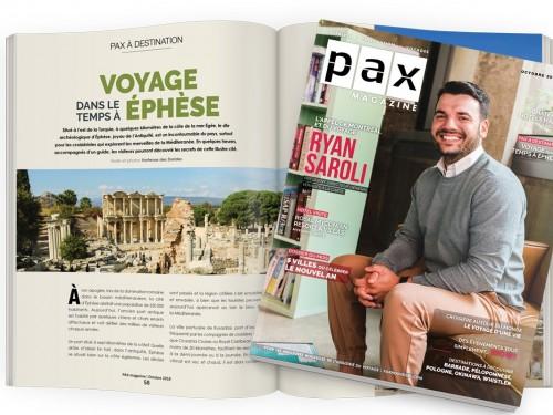 L'édition d'octobre de PAX magazine est maintenant disponible!