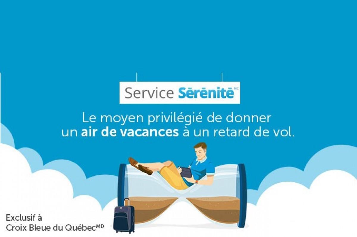 Exclusif : la Croix Bleue offrira une assurance retard de vols