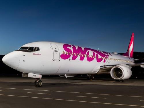 Les vols de Swoop suspendus aux États-Unis