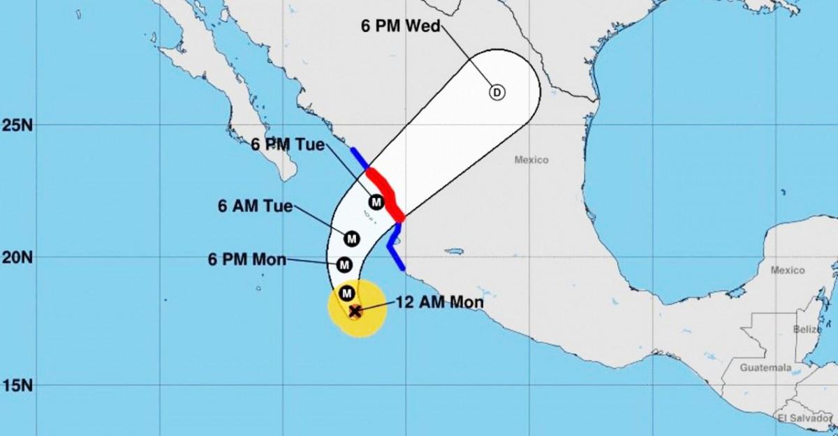 L'ouragan Willa, «extrêmement dangereux», arrive au Mexique