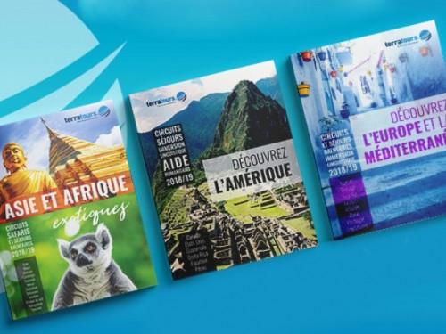 Terratours se dote de trois nouvelles brochures