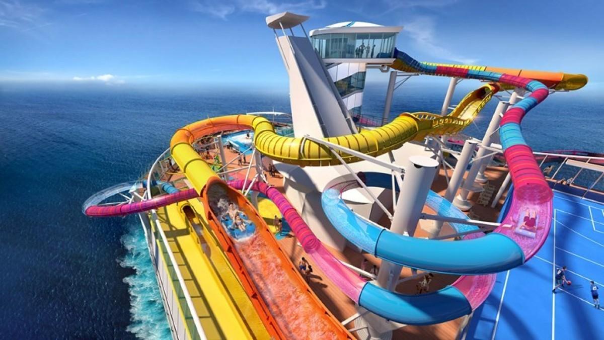 Le Navigator of the Seas de Royal Caribbean sera complètement fou!