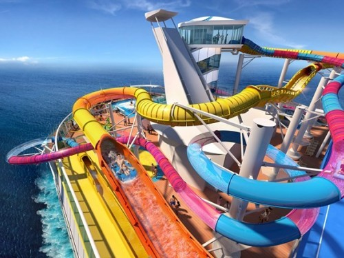 Le Navigator of the Seas de Royal Caribbean sera complètement fou!