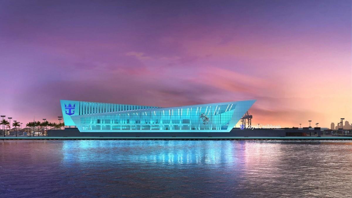 Le somptueux terminal Royal Caribbean de Miami ouvre ses portes