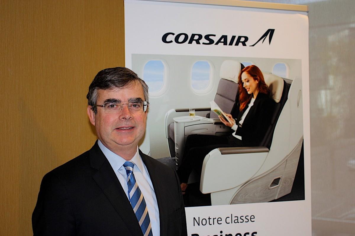 Corsair volera deux fois plus longtemps vers Paris