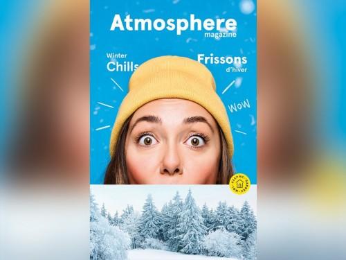Air Transat présente la nouvelle édition de son  magazine Atmosphere