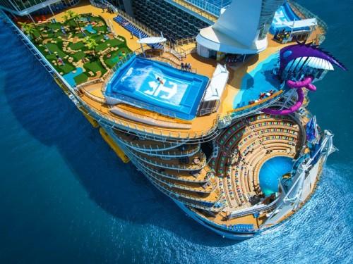 Miami accueille le plus gros navire du monde, le Symphony of the Seas