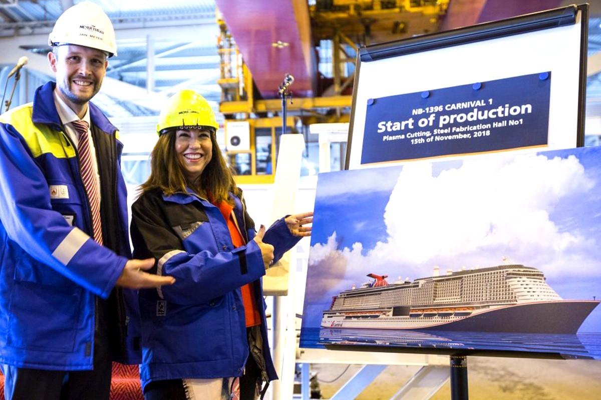 Le plus grand navire de Carnival sera prêt en 2020
