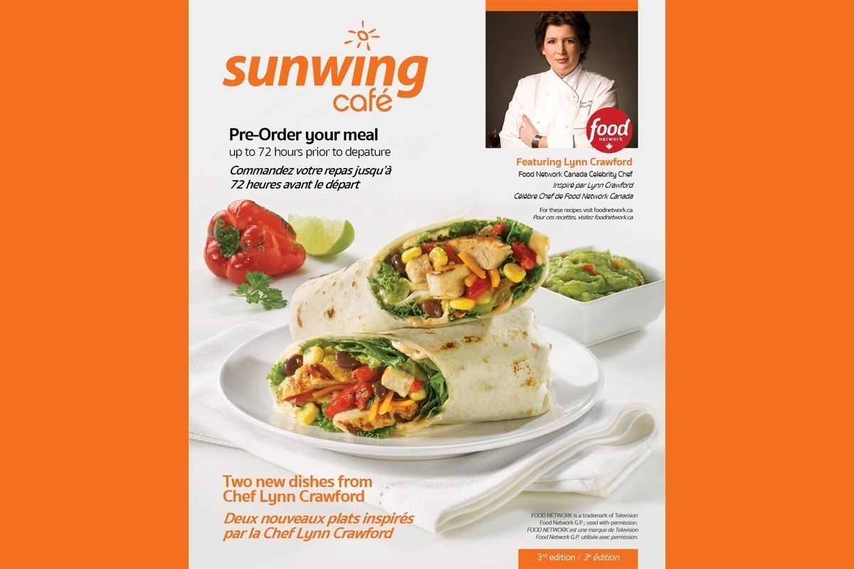 Sunwing: de nouveaux plats de la chef Lynn Crawford avec un concours gourmand