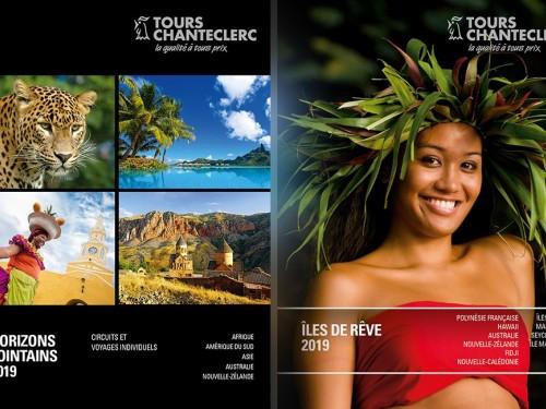 Deux séduisantes brochures pour Tours Chanteclerc