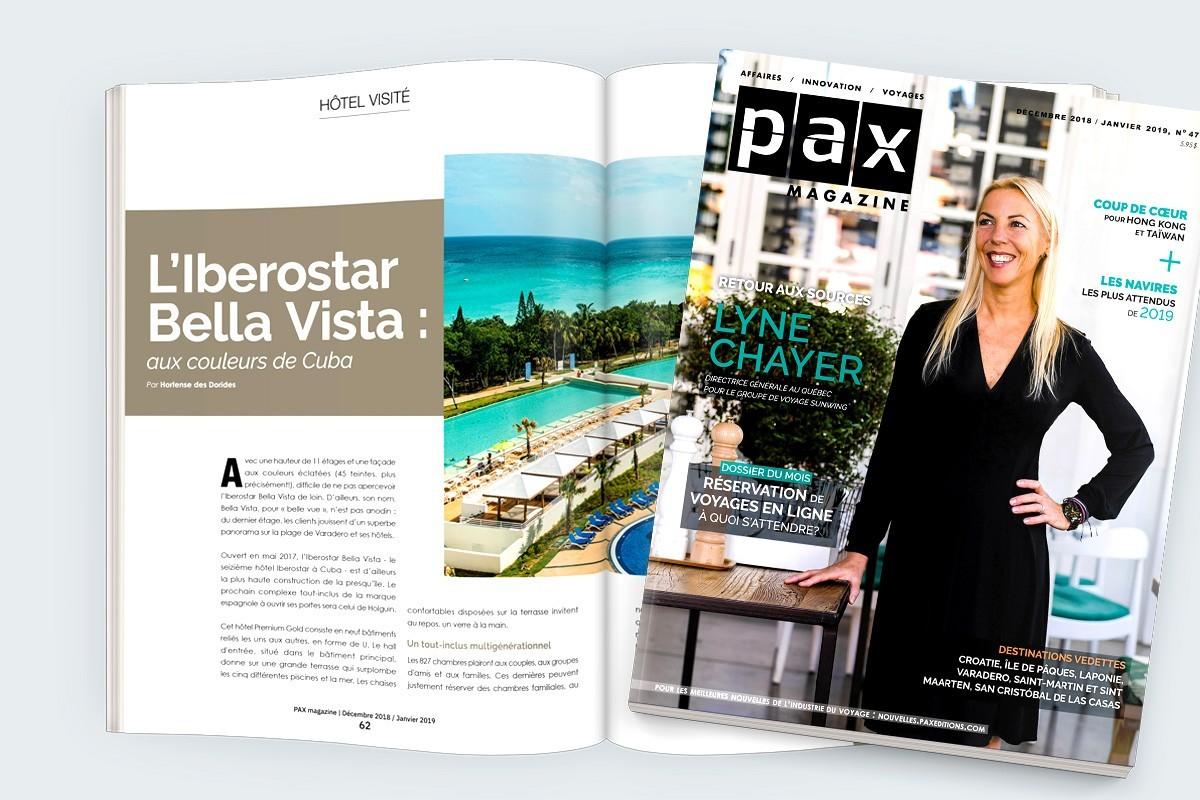 L'édition de décembre-janvier de PAX magazine est maintenant disponible!