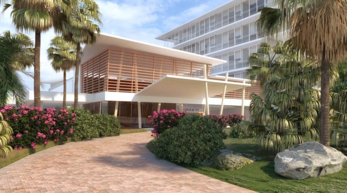 Primeur : des photos du Sonesta Ocean Point à St Maarten