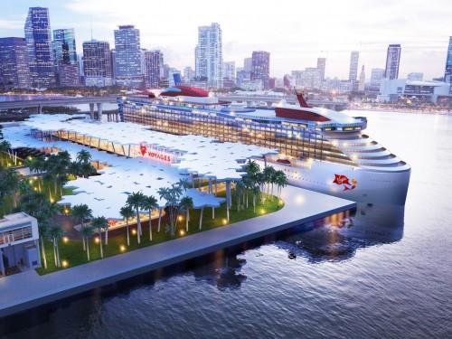 Virgin Voyages aura aussi son terminal à Miami