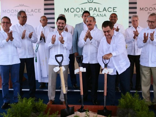 Moon Palace Punta Cana : début de la construction