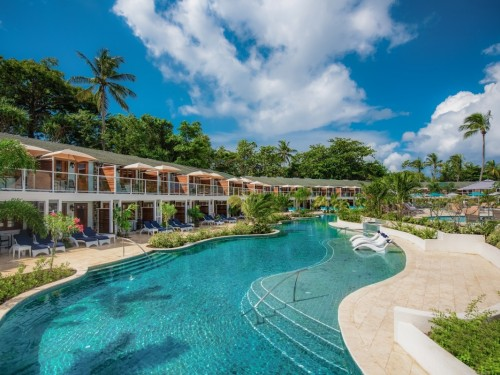 Le Sandals Halcyon possède maintenant des suites swim-up