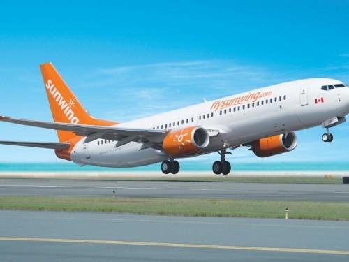 Sunwing : premier vol au départ de Québec vers Puerto Vallarta