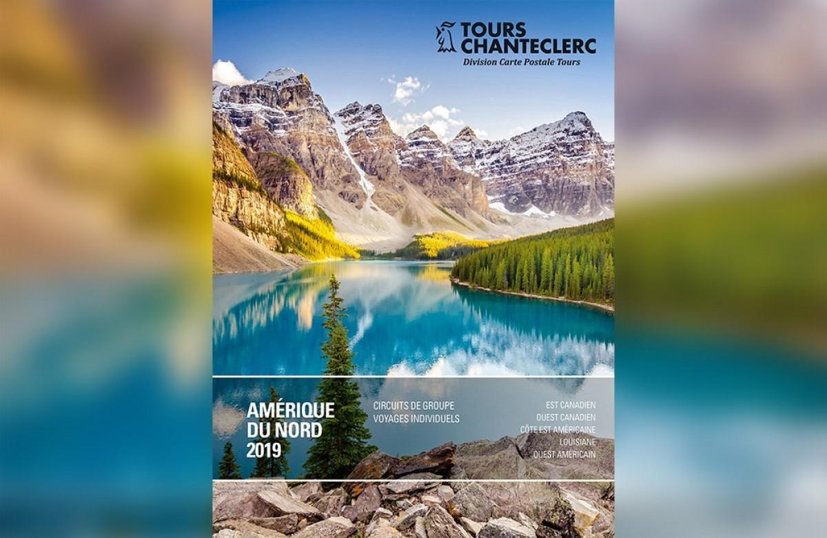 Tours Chanteclerc : nouvelle brochure Amérique du Nord 2019