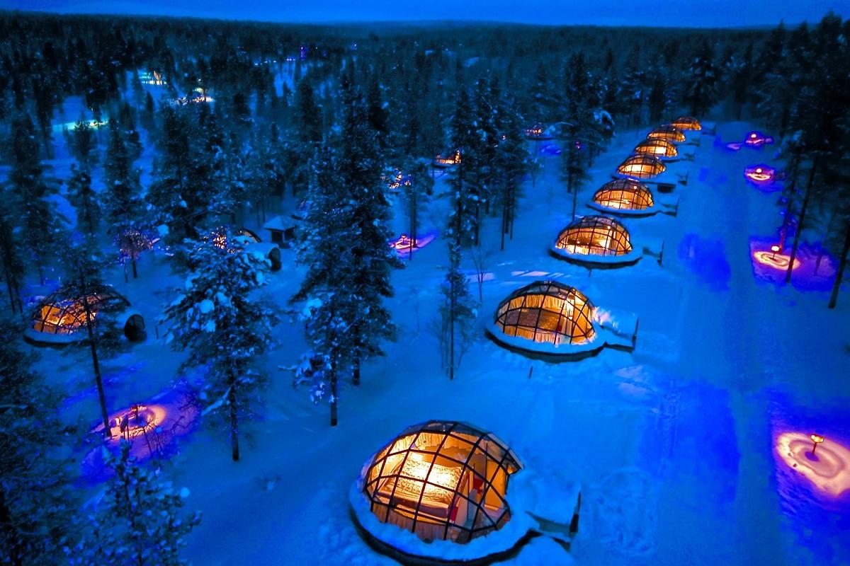 Quatre hôtels de glace à découvrir dans le monde