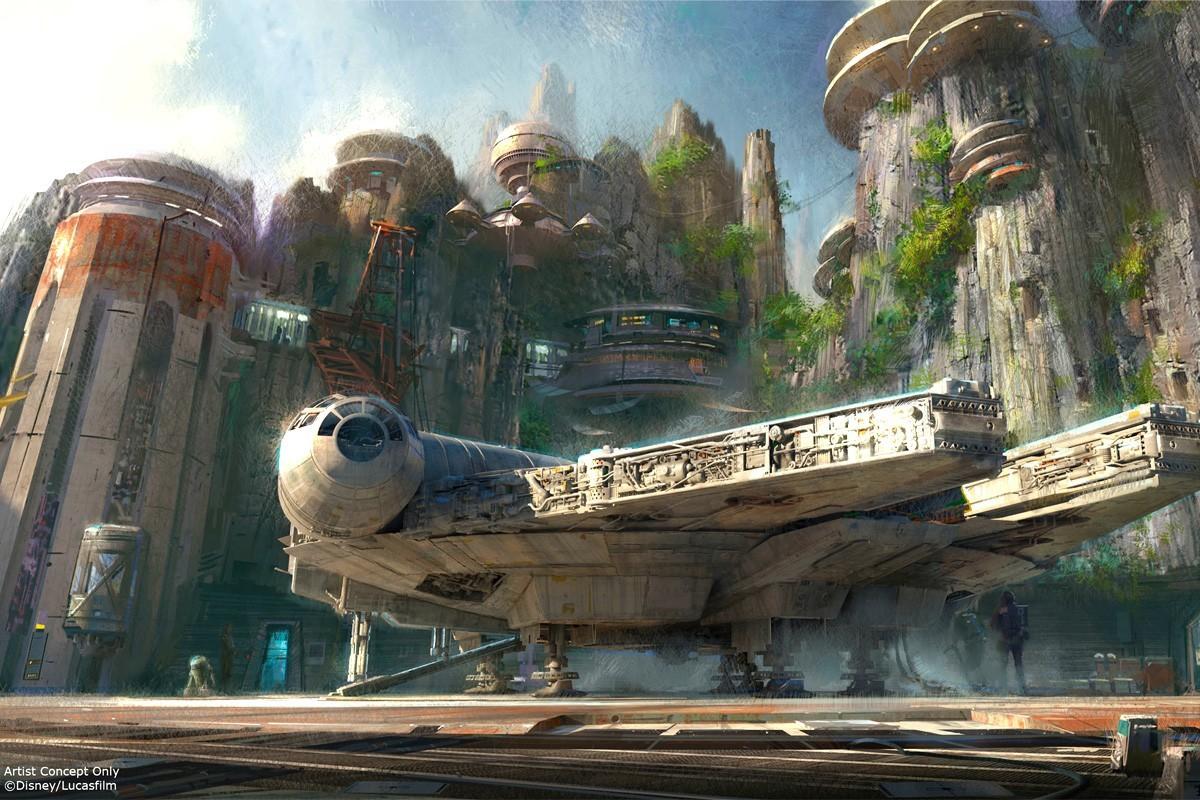Premières images du nouveau parc Star Wars de Disney
