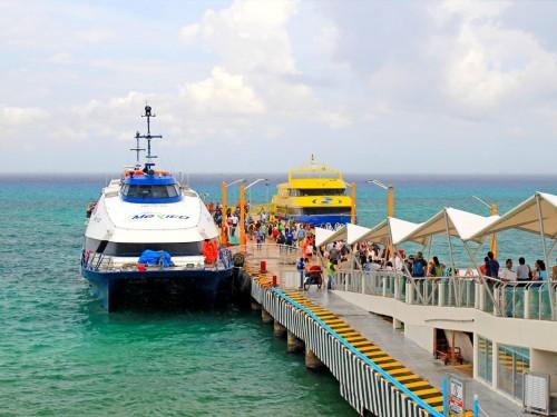 Traversiers Playa del Carmen-Cozumel: il n'y aura finalement pas de taxe
