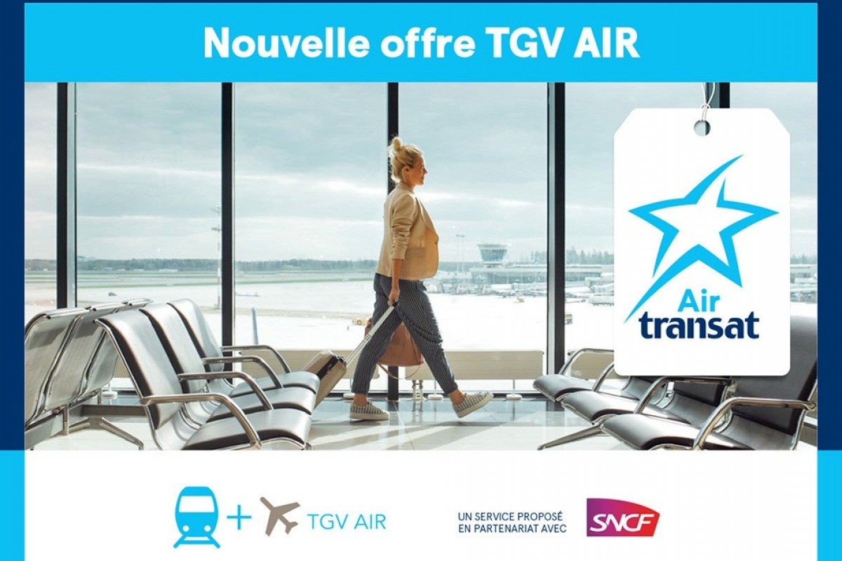 Air Transat : le service TGV AIR est maintenant disponible