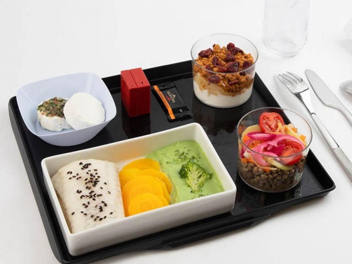 Air France : un nouveau repas santé au menu