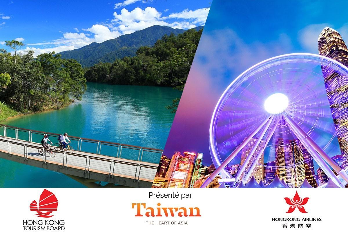 Quiz concours Hong Kong-Taïwan: gagnez un voyage pour deux!