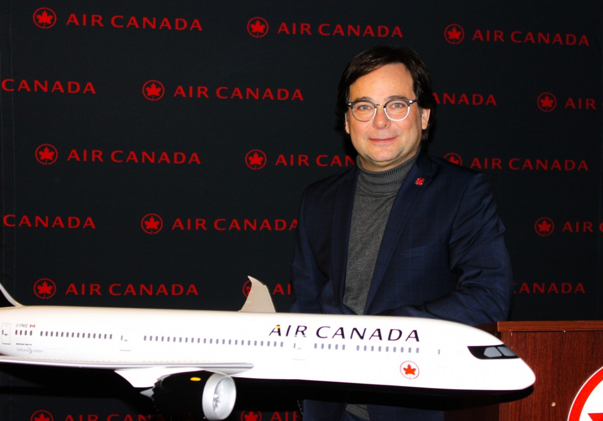 Air Canada annonce ses couleurs pour 2019