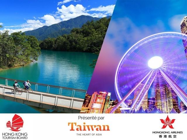 Gagnez un voyage pour deux à Hong Kong et à Taïwan