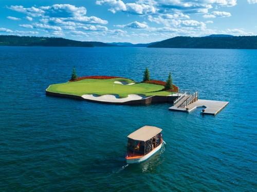 4 parcours de golf parmi les plus spectaculaires du monde